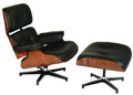 Innenarchitektur modernes wohnen - eames lounch chair